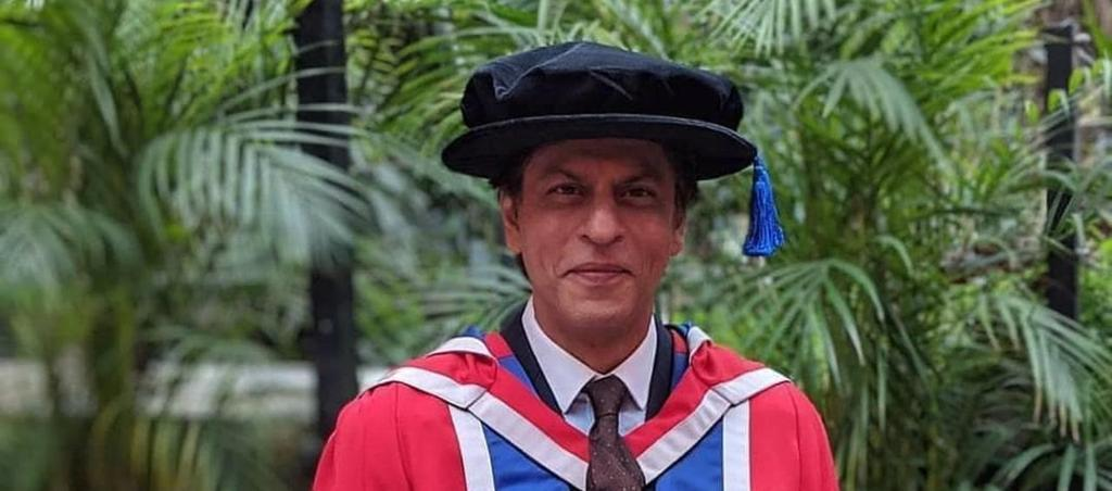 Shah Rukh Khan felicitated with an Honorary Doctorate by London s University of Law