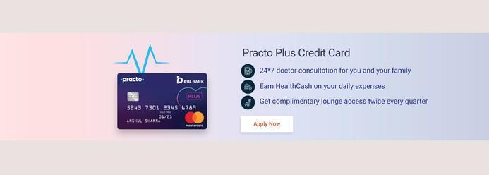 RBL Bank launches India's first health-focused credit card आरब एल ब क