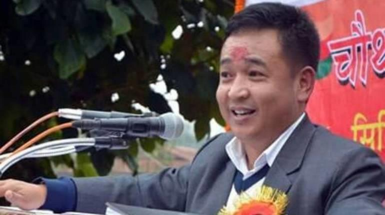 Sikkim Krantikari Morcha, SKM President Prem Singh Golay (Tamang) took oath as the New Chief Minister of Sikkim.