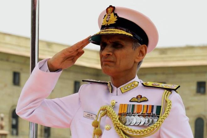 Admiral Karambir Singh took over as the Chief of Naval Staff.