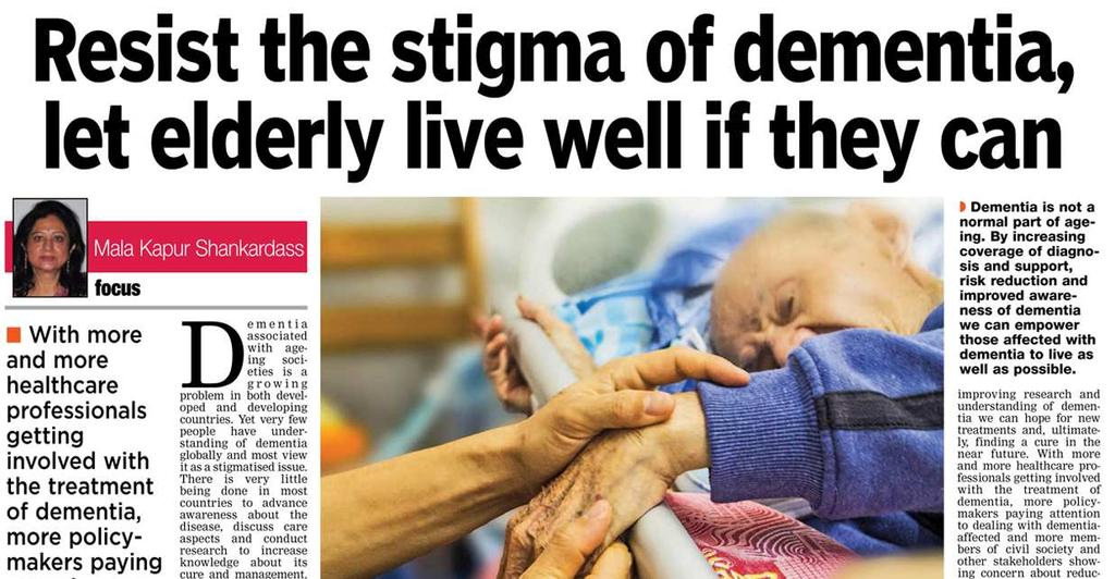 Dementia (The Asian Age: