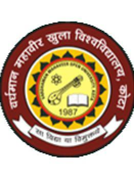 Roll No. VARDHMAN MAHAVEER OPEN UNIVERSITY, KOTA EXAMINATION SECTION RAWATBHATA ROAD, KOTA (RAJ.