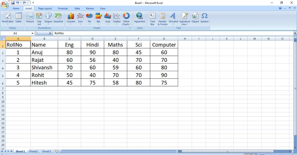 Make any type of chart in MS Excel with the